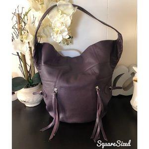 Foley + Corinna Purple Mega Moto Hobo Bag